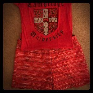 Cynthia Rowley Tweed Dress Shorts
